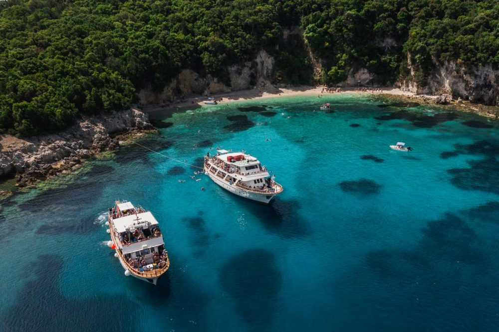 corfu cruises sivota excursion islands