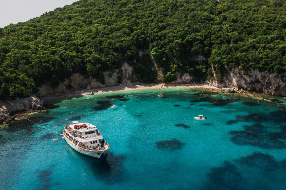 corfu cruises blue lagoon sivota excursion 1