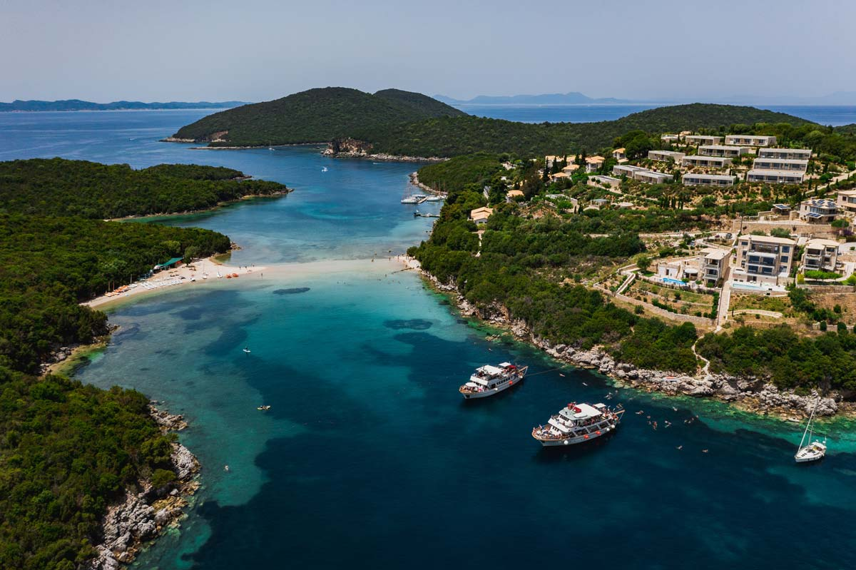corfu cruises blue lagoon sivota excursion bella vraka