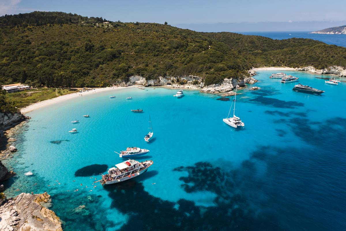 corfu cruises paxos antipaxos &caves excursions 8